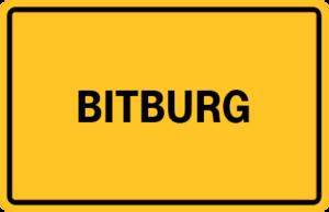 Ortsschild Bitburg